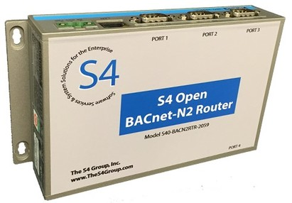 The S4 Open: BACnet-N2 Router For Automation